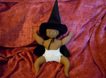Baby witch by Leah-Sharone