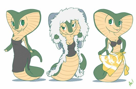 Naga - Tiny Furry 04 by playfurry