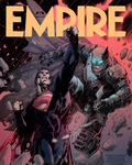 Batman v Superman EMPIRE cover Jim Lee Colouring by MessyPandas