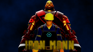 Iron Mann by superspy6