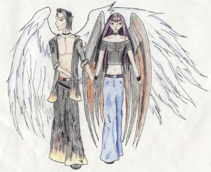 .: Fallen Angel Coming Home :. by Kalia