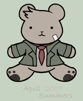 Detective Teddy by MintyDreams7