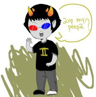 Sollux by LuckyLoser123