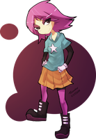 Humanized Maggie by Tsumikin
