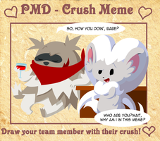 PMD Crush Meme: Zack by Eskuer