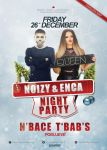 Noizy And Enca // Flayer Template by ex-works1