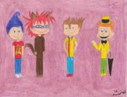 The Rugrats as Club Neutroners by daisyplayer1