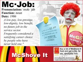 McJob by SlackerProdigy