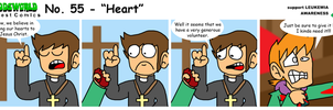 EWGUESTCOMIC No. 55 - Heart by SuperSmash3DS