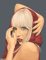 Lady Gaga - Vector by rhobdesigns