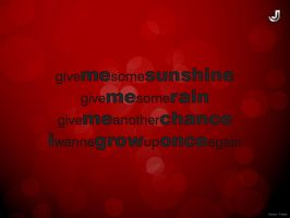 Give Me Sunshine by jeetdesignz