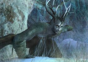 Yule: The Horned God rises by Freyja-M