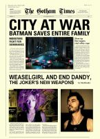 LAST NEWS FROM GOTHAM by DANNY-DED