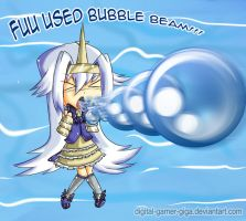 Fuu Used Bubble Beam by TokenDuelist