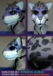 Painted Gas Mask: Syah by Catwoman69y2k