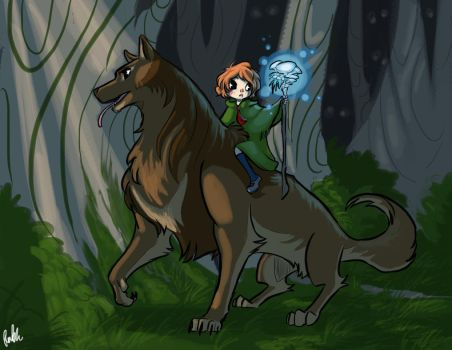 Wolves of Danu: Lost and Found by Dream-Piper