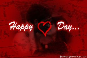 Happy hearts Day by vhive