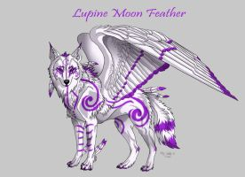 Lupinemoonfeather ref sheet by lupinemoonfeather