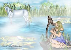 Catch a kelpie with a selkie by DatNachtmaehre