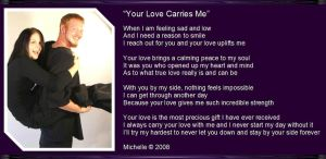 Your Love Carries Me by VisualPoetress