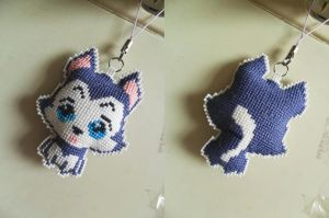 Doggy Handphone Strap by lingggg