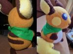 Raichu Plush - Commission by Sparkle-And-Sunshine