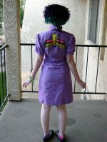 MMPR Waitress dress- back by spaceradish