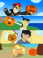 Jack-o-lanters by FJC92