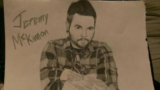 Quick Sketch - Jeremy McKinnon by All-Will-Bow-to-Zim