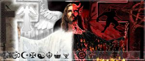 Prince of Peace vs. Sinful one by GraphixRob
