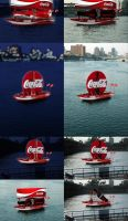 Cocacola boat Adv by nicy2002