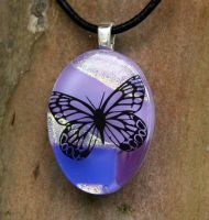 Butterfly Collage Fused Glass by FusedElegance