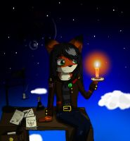 Dawn Candle ---New devID--- by RedSnowFox