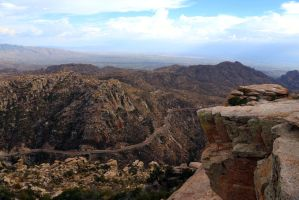 Tucson Overlook by mammothhunter