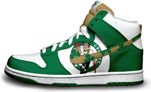 Nike Dunk: Boston Celtics V.1 by itsmonotune