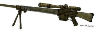 Sniper Rifle 1 by grenadeh