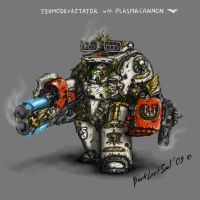 Terminator armour conversion by DarkLostSoul86