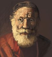 quick old master study 5 by Rodriguezzz