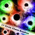 17 Circle Chaos Brushes by XResch