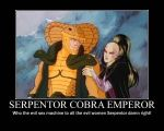 Serpentor Motivational Poster. by DevintheCool