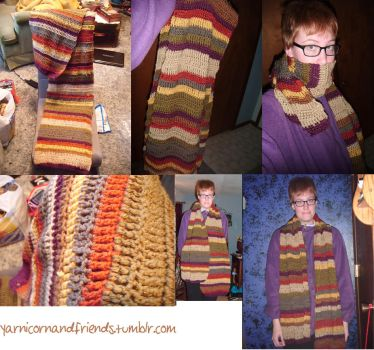 4th Doctor Scarf by Ambrosial-Wolf