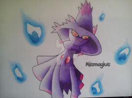 Mismagius (Fail Will-O-Wisp) by Vongxm