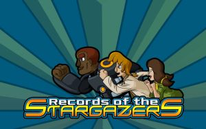 Records of the Stargazers Background by Filecreation