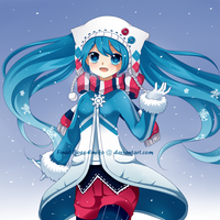 Snow Miku by Final-Boss-Emiko