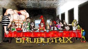 The Last Supper Urubutrix by fernalf