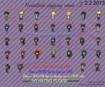 Homestuck Shipping Wall (as of 2/2/2013) by Sigery97