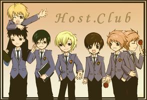 Host Club's ID contest entry by Kisah-san
