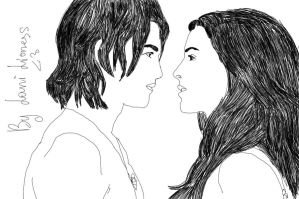 Kahlan And Richard by LanniuaTheLioness