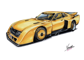 Toyota Celica LB Turbo by vsdesign69