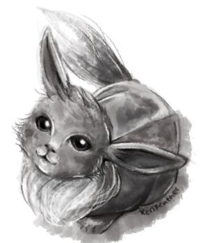 Eevee Doodle by XenFeather
